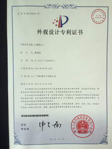 Appearance patent2